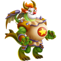clown dragon