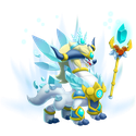 High White Queen Dragon